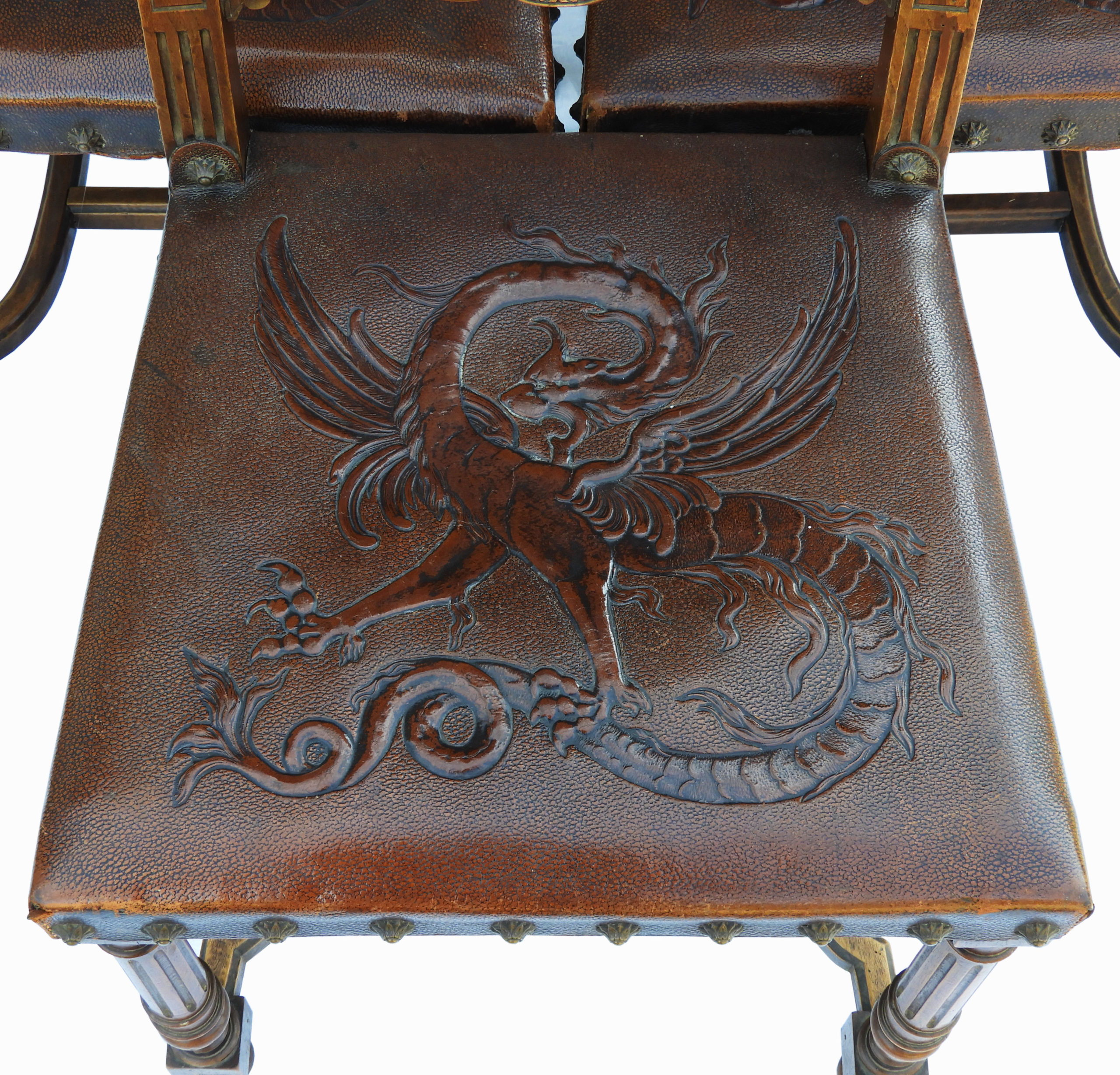 Dining Chairs Gothic Revival Walnut